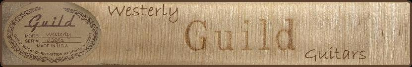 Westerly Guild Guitars